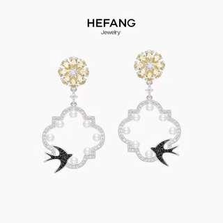 Hefang earrings 925