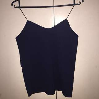 Midnight Blue Cami Top