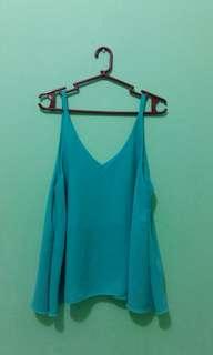 Turquoise sleeveless
