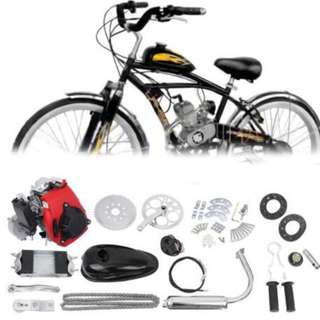 4 Stroke Motorized Bike Petrol Gas Bicycle Engine kit