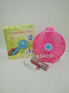 HANDY MINI FAN 2 in 1
