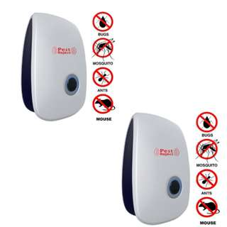 Electronic Pest repeller Pest Control Equipment set of 2