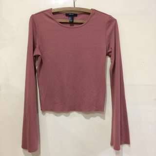 F21 Bell Sleeve Top