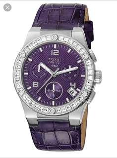 Esprit swaroski watch