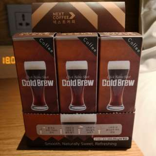 GS25 Nitro Shot Cold Brew Coffee