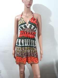 (XS-S) Brand New summer halter dress
