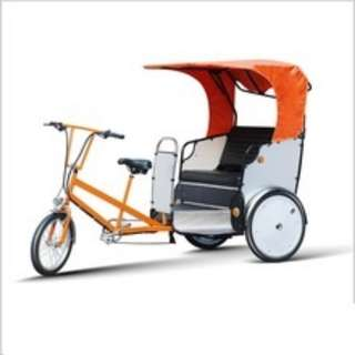 fabrication of E RICKSHAWS and trike bikes for sales