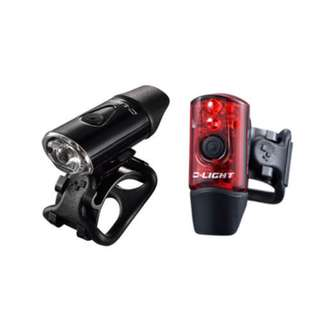 🚚 Flashlights D-LIGHT CG-214WR Front & Rear Set