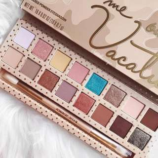 ✨SALE✨Authentic KYLIE Take Me On Vacation Eyeshadow Palette