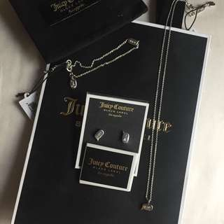 SALE! Juicy Couture Silver Set