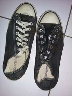 Shoes converse black