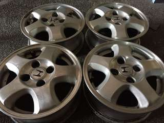 Honda City mags size 13 (4pcs).