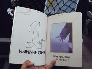 WANNA ONE - ART BOOK VERSION