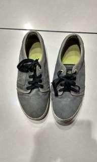 Grey Suede Fallen Sneakers
