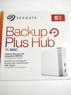8TB Seagate Backup Plus Hub for Mac External Desktop Hard Drive