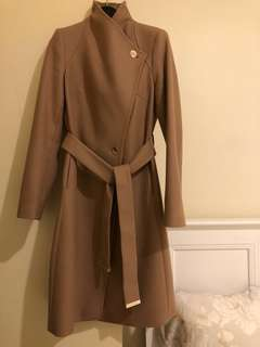Ted Baker coat, mid-length, sz 1 uk (sz8aus), new 98%, bought 700aud.