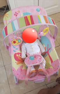 Rocker Mastela Pink Bouncer (NEGO)
