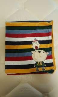 Mothercare Toddler Blanket Stripes