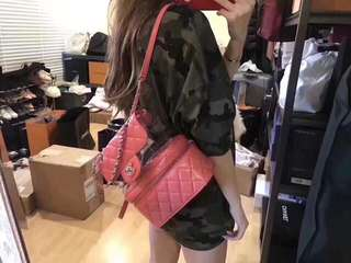 Chanel transparent backpack