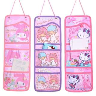 SANRIO MULTI PURPOSE HOLDER *POCKET*STATIONERY*STORAGE*ORIGINAL*LITTLE TWIN STAR*MY MELODY*HELLO KITTY
