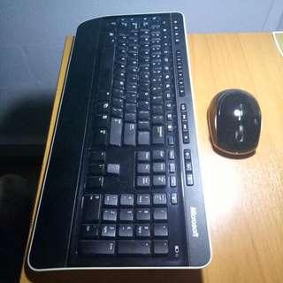 Microsoft wireless 3000 keyboard + mouse