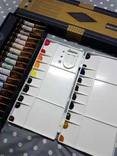 Gold class mission mijello artist watercolour palette