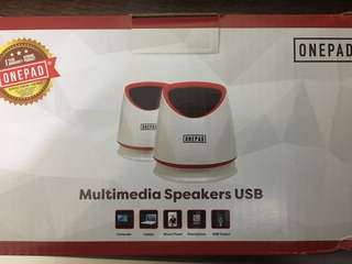 100%new USB Speaker 喇叭