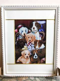 5D Diamond Painting of Dog
