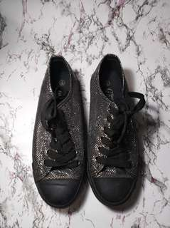 Black Glittery Shoes / NAME YOUR PRICE