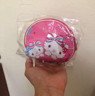 ✨全新✨ Kitty 凱蒂貓 鑰匙圈零錢包👛