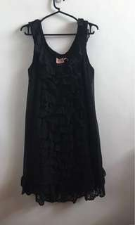 Juicy Couture Black Long Top/dress