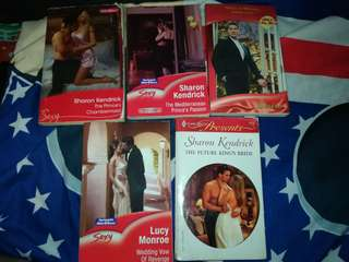 Mills and Boon/ Harlequin books