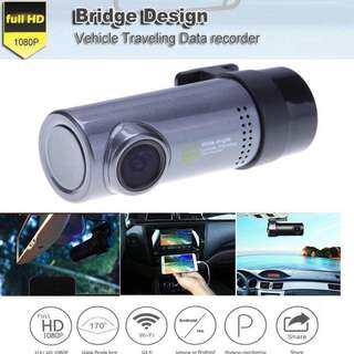 HD 720P Mini WiFi Car Hidden Front DVR Video Recorder Camera Motion Detection Dash Cam