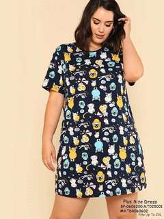 PLUS SIZE DRESS FIts Up To 2XL  Price : 350