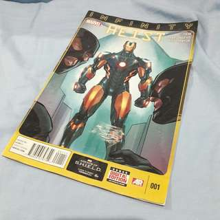 Marvel comic book Infinity Heist