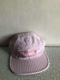 Supreme Camp Cap pink