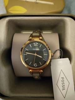 FOSSIL Gold/Grey Watch