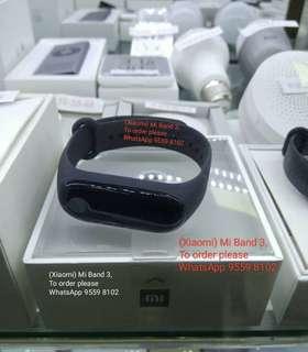 Xiaomi Mi Band 3  (小米手環3)