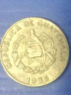 Guatemala 5 centavos 1965