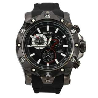 SHHORS SH-0102 MEN QUARTZ ANALOG SPORTS WATCH