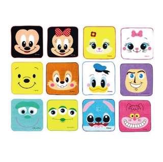 24款 かわいい!日本迪士尼手巾仔 一包24款公仔 預購