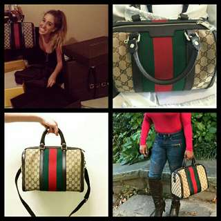 PROMO!!!GUCCI BOSTON BAG SMALL AND LARGE