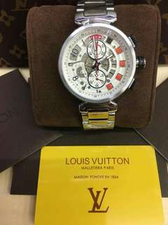 Louis Vuitton watch for men FREE SHIPPING