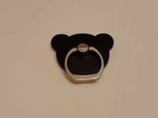 熊仔形膠手機機背環