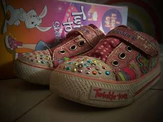 Kids Shoes Skechers, twinkle toes, I light up