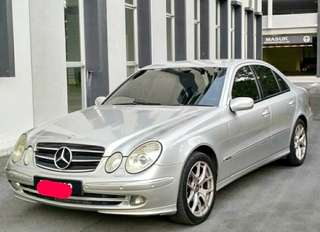 Mercedes Benz W211 E240 (A) V6 Sambung Bayar / Car Continue Loan
