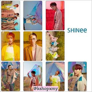 SHINEE ' The Story Of Light ' Glossy Photocards