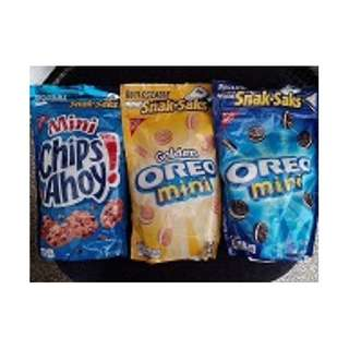 Mini Oreo and Mini Chips Ahoy