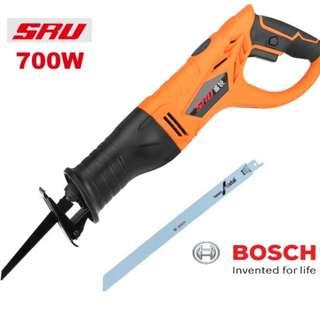 SRU Electric Reciprocating Saw 750W + Bosch Metal Blade 30cm