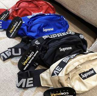 tas Waistbag atau punggung Supreme Import Miror 1:1 Grade Original